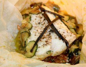 Papilotte de cabillaud idée repas recette poisson