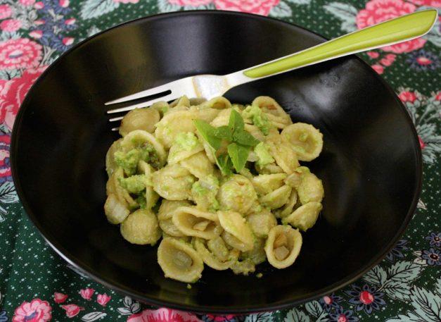 idée repas italien Orecchiette