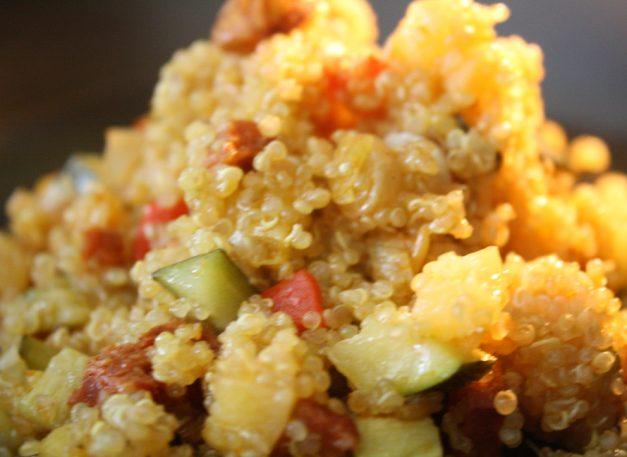 idée repas vegetarien quinoa