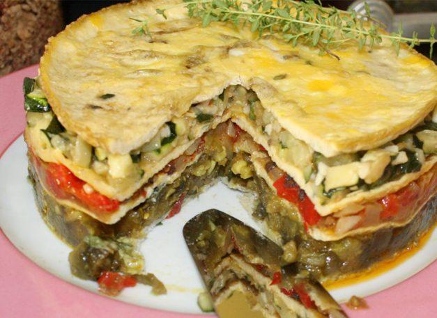 millefeuille-omelette-recette