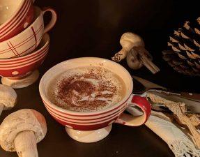 cappucino aux champignons