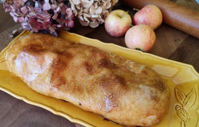strudel aux pommes noix