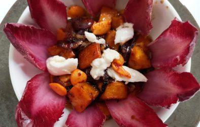 Salade automnale à la courge Sucrine