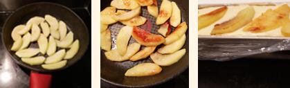 Bûche Marrons-Pommes