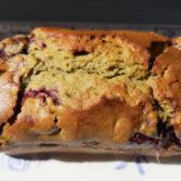 Recette dessert cake ricotta framboises pistaches