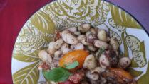 Salade de mogettes aux saveurs provençales