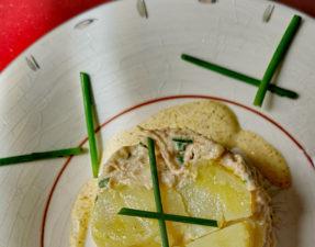 Recette gâteau de rouget au beurre d'anis final