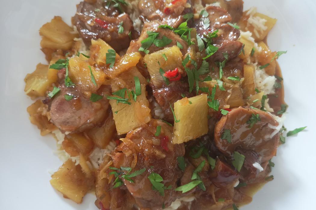 filet-mignon-de-porc-a-l-ananas-gingembre-et-fruits-de-la-passion